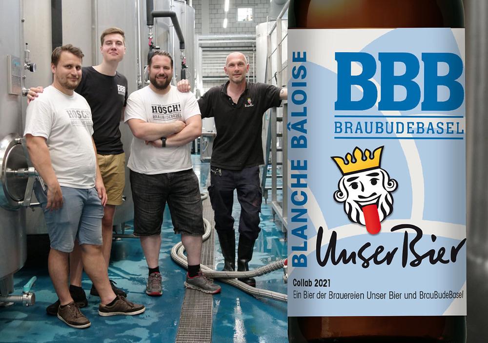 Blanche Baloise BBB Unser Bier